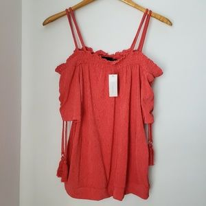 NWT New York & Co Off the Shoulder Top